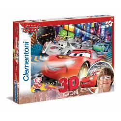 PUZZ 104 CARS 3D -CLEMENTONI-