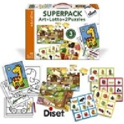 SUPERPACK ART+LOTTO+2 PUZZLES