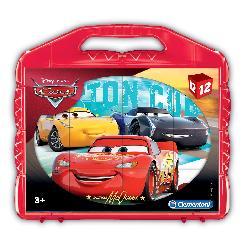 ROMPECABEZAS 12 CARS -CLEMENTONI-