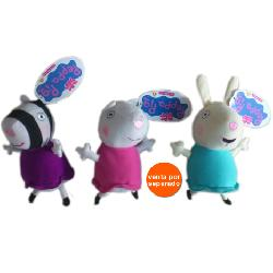 PEPPA PIG-MINI PELUCHES C/SONIDO
