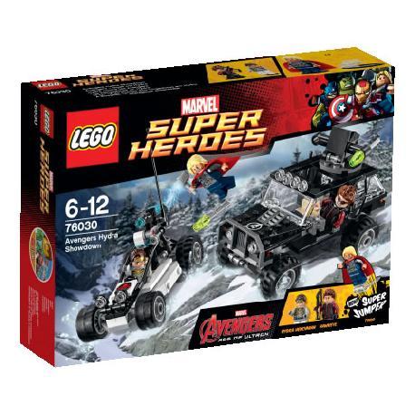 LEGO SUPERHEROES-VENGADORES VS HYDRA