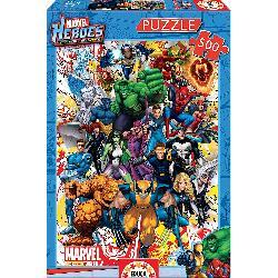 PUZZ 500 HEROES MARVEL