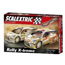 SCALEXTRIC-CIRCUITO C2 RALLY X-TREME