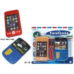 TELEFONO NIÑO 2PCS E/BLISTER -TRITON-