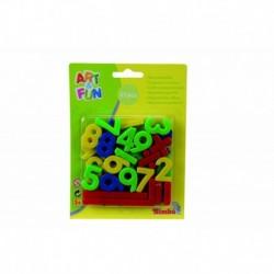 NUMEROS IMANTADOS 37 PCS,