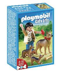PLAYMOBIL PASTOR ALEMAN C/CACHORROS