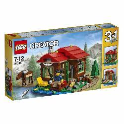 LEGO CREATOR-CABAÑA JUNTO AL LAGO