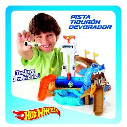 HOT  WHEELS-PISTA  TIBURON  DEVORADOR
