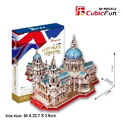 PUZZLE 3D CATEDRAL ST.PAUL 107PCS