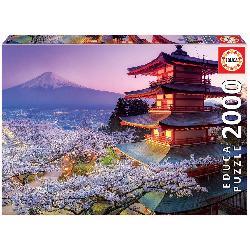 PUZZ 2000 MONTE FUJI JAPON