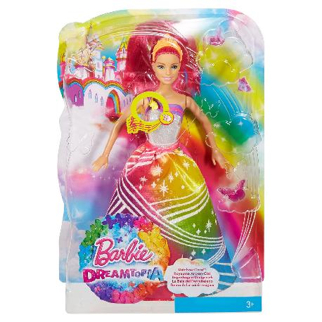 BARBIE PRINCESA LUCES ARCOIRIS