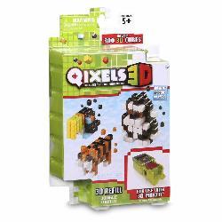 QIXELS 3D PACK TEMAS 6SURT.