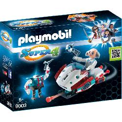PLAYMOBIL SKYJET CON DR.X Y ROBOT