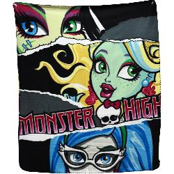 MANTA POLAR MONSTER HIGH 150X100CM SURT.