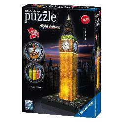 PUZZLE 3D 216PCS BIG BEN EDICION LUZ