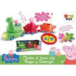 PEPPA PIG-TODOS AL TREN PEPPA Y GEORGE