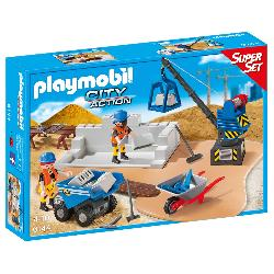 PLAYMOBIL  SUPERSET  CONSTRUCCION
