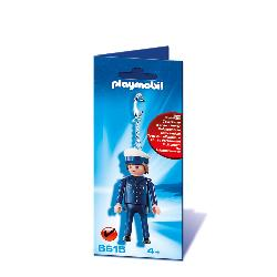PLAYMOBIL LLAVERO POLICA