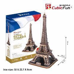 PUZZLE 3D TORRE EIFFEL 82PCS