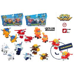 SUPER WINGS FIGURAS TRANSFORM PACK 4U.