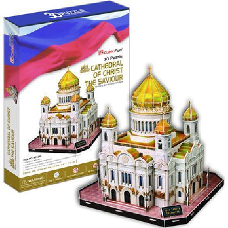 PUZZLE 3D CATEDRAL CHRIST SAVIOUR 127PCS