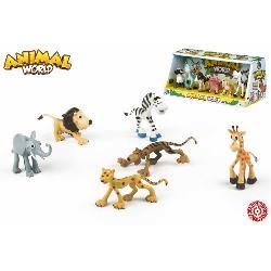 ANIMALES  ANIMADOS  6PCS  GRANJA/SELVA  2SUR