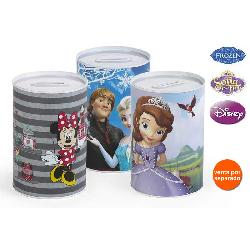 HUCHA DISNEY 10X15 GIRLS METALICA 3SURT.