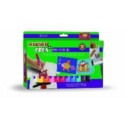 PINTURA ALPINO CREA 3D 12PCS
