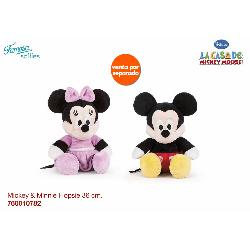 MICKEY-MINNIE 36CM FLOPSIES...