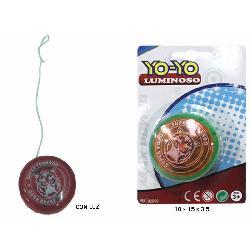 YO-YO C/LUZ E/BLISTER -TRITON-