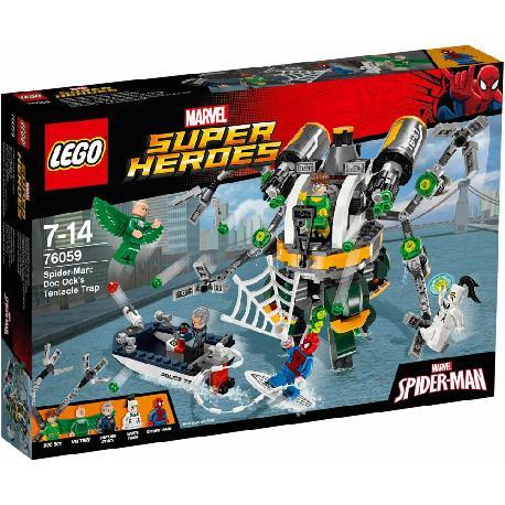 LEGO SUPER HEROES-SPIDERMAN TRAMPA DOC O
