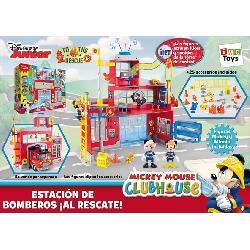 MICKEY  ESTACION  BOMBEROS  AL  RESCATE