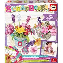 SCRAPBOOK  CREA  FLORES