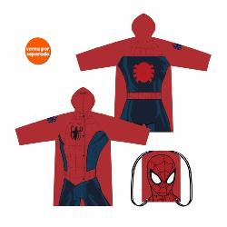 IMPERMEABLE SPIDERMAN+BOLSA TALLAS SURT.