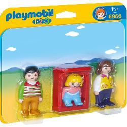 PLAYMOBIL 1.2.3 PADRES CON BEBE