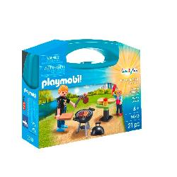 PLAYMOBIL  MALETIN  BARBACOA