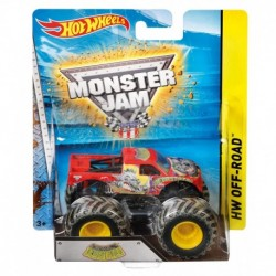 HOT WHEELS-VEHICULOS MONSTER JAM SURT.