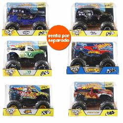 HOT  WHEELS-VEHIC.MONSTER  JAM  1:24  SURT.