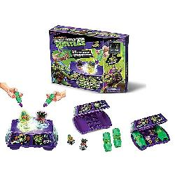 TORTUGAS NINJA-PISTA STRIKERS CON 2 FIG.