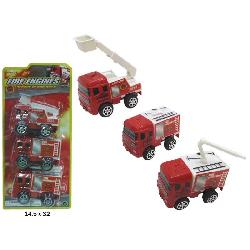 CAMION BOMBEROS PACK 3UD...