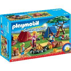 PLAYMOBIL  CAMPAMENTO  CON...