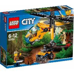 LEGO CITY-HELICOPTERO DE TRANSPORTE