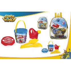SUPERWINGS  CUBO+3ACC+REGADERA  E/MOCHILA
