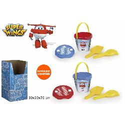 SUPERWINGS CUBO PLAYA 14CM +ACC PEQ.