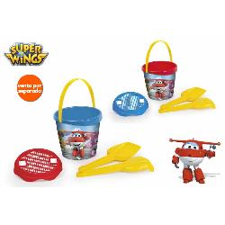 SUPERWINGS CUBO PLAYA 18CM +ACC GDE.
