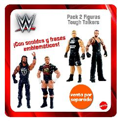 WWE-PACK 2 FIGURAS TOUGH TALKERS