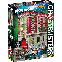 PLAYMOBIL PARQUE BOMBEROS GHOSTBUSTERS