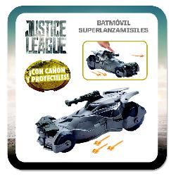 JUSTICE LEAGUE-BATMOVIL SUPERLANZAMISILE