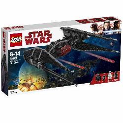 LEGO  STARWARS-KYLO  REN'S  TIE  FIGHTER