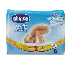 PAÑALES 3-6KG MINI DRY FIT -CHICCO-